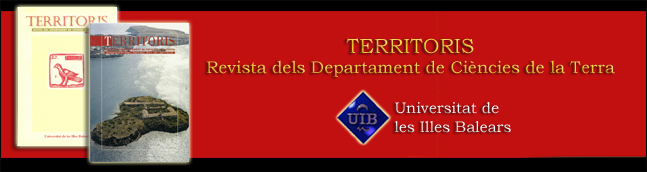 Territoris - Revista del Departament de Ciències de la Terra